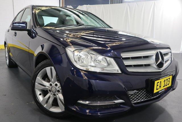 Used Mercedes-Benz C-Class W204 MY13 C200 CDI 7G-Tronic + Castle Hill, 2013 Mercedes-Benz C-Class W204 MY13 C200 CDI 7G-Tronic + Blue 7 Speed Sports Automatic Sedan