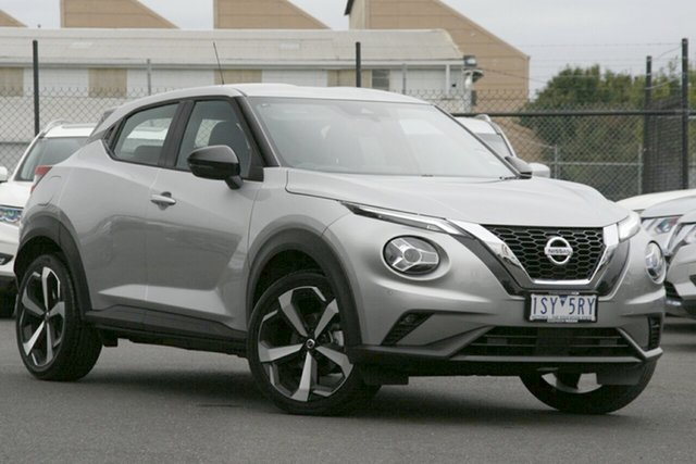 Demo Nissan Juke F16 ST-L DCT 2WD Essendon Fields, 2020 Nissan Juke F16 ST-L DCT 2WD Platinum 7 Speed Sports Automatic Dual Clutch Hatchback