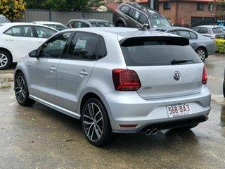 2016 Volkswagen Polo 6R MY16 GTi Silver 6 Speed Manual Hatchback.
