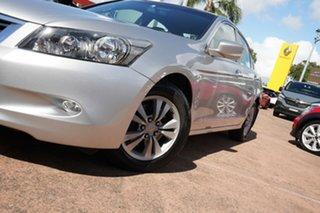 2009 Honda Accord 50 VTi Silver 5 Speed Automatic Sedan.