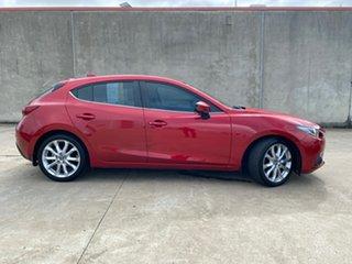 2015 Mazda 3 BM5438 SP25 SKYACTIV-Drive Astina Red 6 Speed Sports Automatic Hatchback.