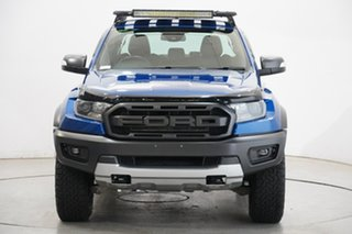 2018 Ford Ranger PX MkIII 2019.00MY Raptor Blue 10 Speed Sports Automatic Utility.