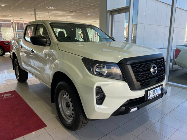 Demo Nissan Navara D23 MY21 SL Launceston, 2021 Nissan Navara D23 MY21 SL White Pearl 6 Speed Manual Utility