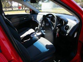2010 Holden Cruze JG CD Red 6 Speed Automatic Sedan