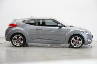 2013 Hyundai Veloster FS2 Coupe D-CT Grey 6 Speed Sports Automatic Dual Clutch Hatchback