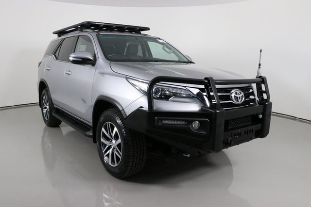 Used Toyota Fortuner GUN156R Crusade Bentley, 2016 Toyota Fortuner GUN156R Crusade Silver 6 Speed Automatic Wagon