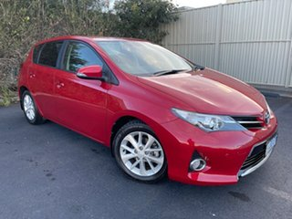 2014 Toyota Corolla ZRE182R Ascent Sport S-CVT Red 7 Speed Constant Variable Hatchback.
