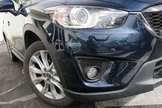 2014 Mazda CX-5 KE1031 MY14 Grand Touring SKYACTIV-Drive AWD Deep Crystal Blue 6 Speed.