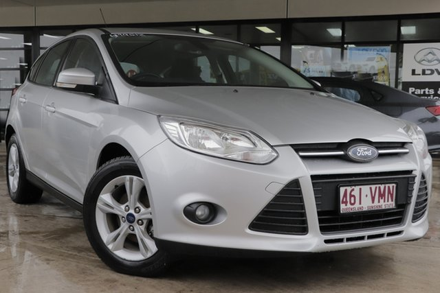 Used Ford Focus LW MkII Trend PwrShift Rocklea, 2014 Ford Focus LW MkII Trend PwrShift Ingot Silver 6 Speed Sports Automatic Dual Clutch Hatchback