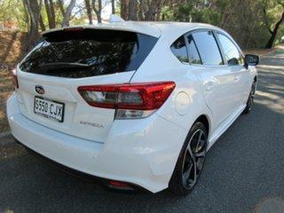 2021 Subaru Impreza G5 MY21 2.0i-S CVT AWD Crystal White 7 Speed Constant Variable Hatchback.