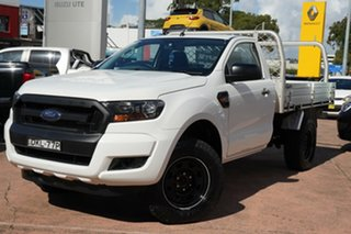 2016 Ford Ranger PX MkII XL 3.2 (4x4) White 6 Speed Manual Cab Chassis.