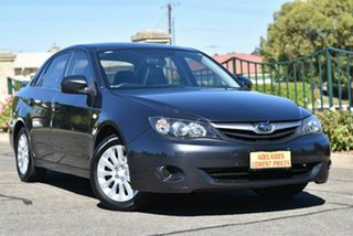 2011 Subaru Impreza G3 MY11 R AWD Grey 4 Speed Sports Automatic Sedan.