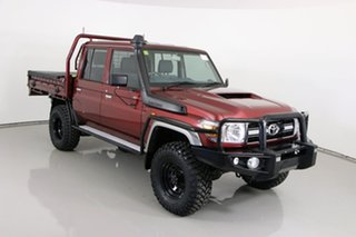 2020 Toyota Landcruiser VDJ79R GXL (4x4) Merlot 5 Speed Manual Double Cab Chassis