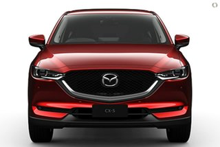 2021 Mazda CX-5 KF4WLA GT SKYACTIV-Drive i-ACTIV AWD Red 6 Speed Sports Automatic Wagon.