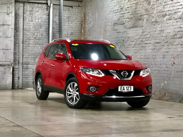 Used Nissan X-Trail T32 Ti X-tronic 4WD Mile End South, 2014 Nissan X-Trail T32 Ti X-tronic 4WD Red 7 Speed Constant Variable Wagon