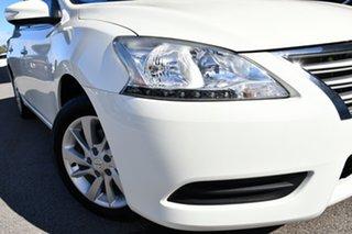 2015 Nissan Pulsar B17 Series 2 ST White 1 Speed Constant Variable Sedan.