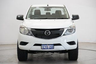 2015 Mazda BT-50 UP0YF1 XT White 6 Speed Sports Automatic Utility.