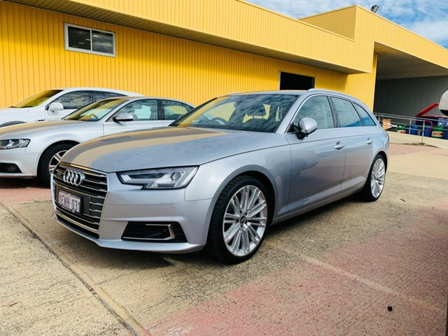 Used Audi A4 B9 8W MY16 sport Avant S Tronic Quattro Canning Vale, 2016 Audi A4 B9 8W MY16 sport Avant S Tronic Quattro Silver 7 Speed Sports Automatic Dual Clutch