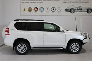 2017 Toyota Landcruiser Prado GDJ150R Kakadu White 6 Speed Sports Automatic Wagon