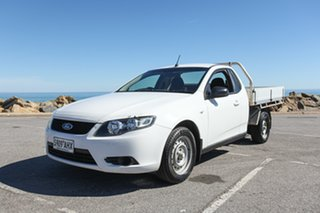 2010 Ford Falcon FG Super Cab White 4 Speed Automatic Cab Chassis