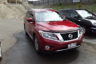 2014 Nissan Pathfinder R52 MY14 ST-L X-tronic 4WD Red 1 Speed Constant Variable Wagon.