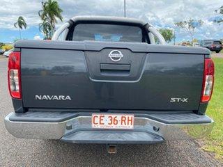 2008 Nissan Navara D40 ST-X 4x2 Grey 6 Speed Manual Utility