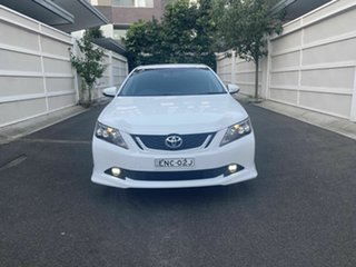 2016 Toyota Aurion GSV50R Sportivo White 6 Speed Sports Automatic Sedan.