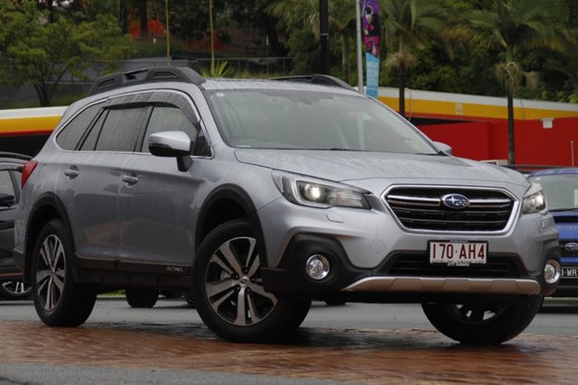 Demo Subaru Outback B6A MY20 2.5i CVT AWD Premium Newstead, 2020 Subaru Outback B6A MY20 2.5i CVT AWD Premium Ice Silver 7 Speed Constant Variable Wagon
