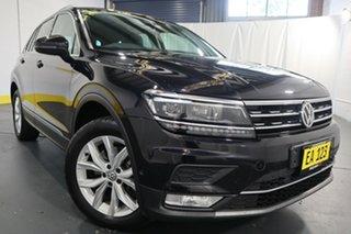 2017 Volkswagen Tiguan 5N MY17 140TDI DSG 4MOTION Highline Black 7 Speed.