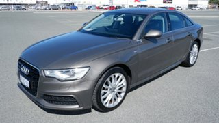 2014 Audi A6 4G MY14 Multitronic Grey 1 Speed Constant Variable Sedan