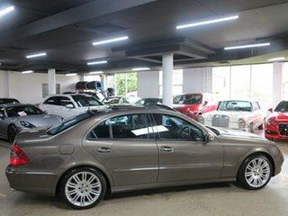 2008 Mercedes-Benz E-Class W211 MY08 E500 Avantgarde Indium Grey 7 Speed Sports Automatic Sedan