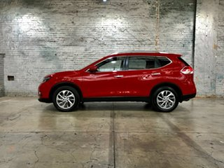 2014 Nissan X-Trail T32 Ti X-tronic 4WD Red 7 Speed Constant Variable Wagon