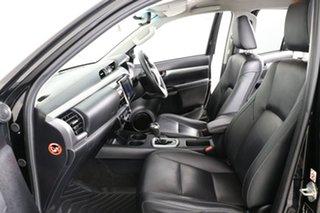2016 Toyota Hilux GUN126R SR5 (4x4) Black 6 Speed Automatic Dual Cab Utility