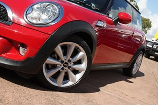 2012 Mini Cooper R56 MY12 S Red 6 Speed Automatic Hatchback.