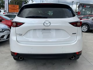 2017 Mazda CX-5 KF4WLA GT SKYACTIV-Drive i-ACTIV AWD White 6 Speed Sports Automatic Wagon.