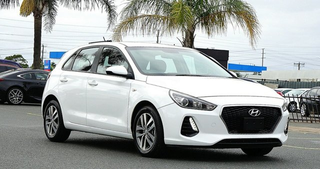 Used Hyundai i30 PD.3 MY20 Go Cheltenham, 2019 Hyundai i30 PD.3 MY20 Go White 6 Speed Sports Automatic Hatchback