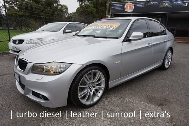 Used BMW 3 Series E90 MY1011 320d Steptronic Lifestyle Dandenong, 2011 BMW 3 Series E90 MY1011 320d Steptronic Lifestyle Titanium Silver 6 Speed Sports Automatic