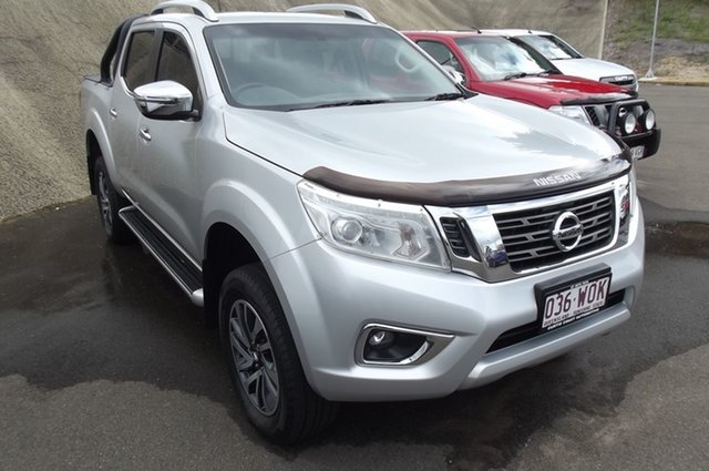 Used Nissan Navara D23 ST-X South Gladstone, 2016 Nissan Navara D23 ST-X Brilliant Silver 7 Speed Sports Automatic Utility
