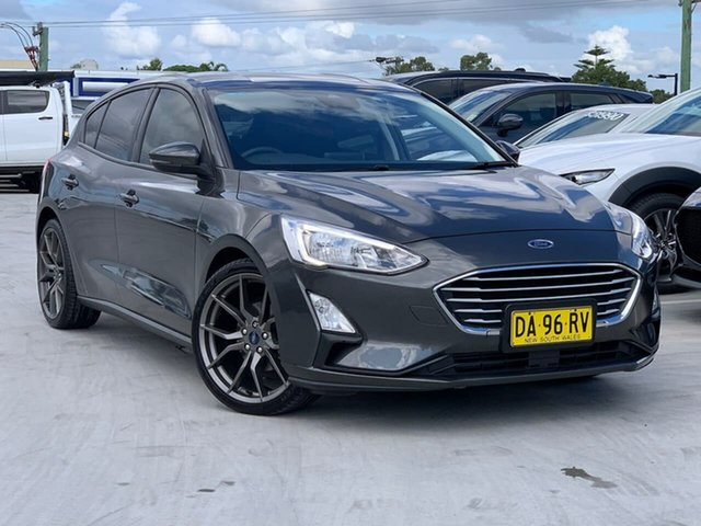 Used Ford Focus LZ Trend Liverpool, 2018 Ford Focus LZ Trend Grey 6 Speed Automatic Hatchback