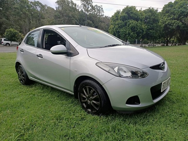 Used Mazda 2 DE10Y1 Neo Clontarf, 2007 Mazda 2 DE10Y1 Neo Silver 5 Speed Manual Hatchback