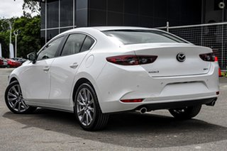 2021 Mazda 3 BP2S7A G20 SKYACTIV-Drive Evolve White 6 Speed Sports Automatic Sedan