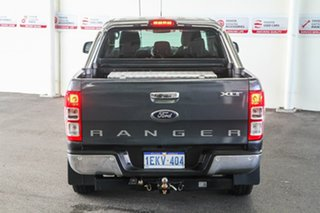 2013 Ford Ranger PX XLT 3.2 (4x4) Grey 6 Speed Automatic Double Cab Pick Up