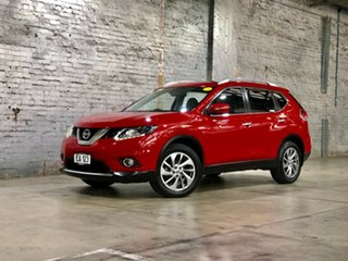 2014 Nissan X-Trail T32 Ti X-tronic 4WD Red 7 Speed Constant Variable Wagon.