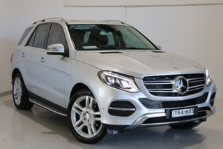 2016 Mercedes-Benz GLE-Class W166 807MY GLE250 d 9G-Tronic 4MATIC Silver 9 Speed Sports Automatic.
