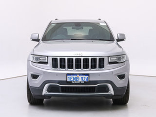 2014 Jeep Grand Cherokee WK MY14 Limited (4x4) Silver 8 Speed Automatic Wagon.