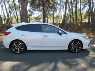 2021 Subaru Impreza G5 MY21 2.0i-S CVT AWD Crystal White 7 Speed Constant Variable Hatchback.