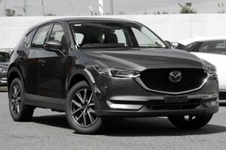 2021 Mazda CX-5 KF4WLA GT SKYACTIV-Drive i-ACTIV AWD Grey 6 Speed Sports Automatic Wagon.
