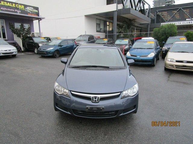 Used Honda Civic MY07 VTi Coorparoo, 2008 Honda Civic MY07 VTi Grey 5 Speed Automatic Sedan