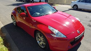 2011 Nissan 370Z Z34 MY11 Red 7 Speed Automatic Coupe