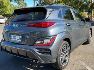 2021 Hyundai Kona Os.v4 MY21 N-Line D-CT AWD Premium Dark Knight & Black Roof 7 Speed